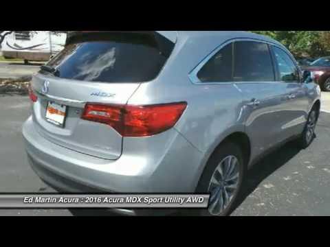 2016 Acura MDX 3M21516