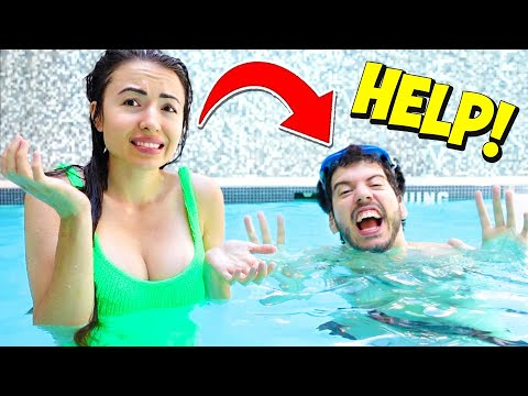 Teaching Typical Gamer How To SWIM!