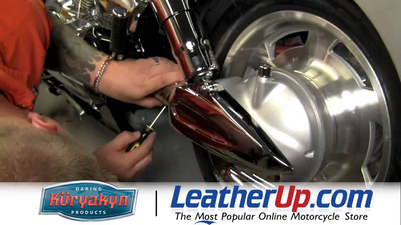 Kuryakyn Drive Shaft Cover for Honda VTX1300 at LeatherUp ...