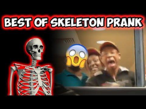BEST OF SKELETON PRANK!!