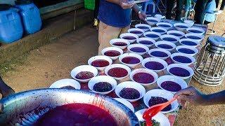 TIẾT CANH NGỰA ĐÁM CƯỚI NGƯỜI GIÁY 85 MÂM 1 NGỰA 2 LỢN 87kg Ngan | Buffalo Blood pudding | Sapa Tv
