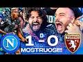 😱 MOSTRUOSI!!! NAPOLI 1-0 TORINO | LIVE REACTION NAPOLETANI AL MARADONA HD