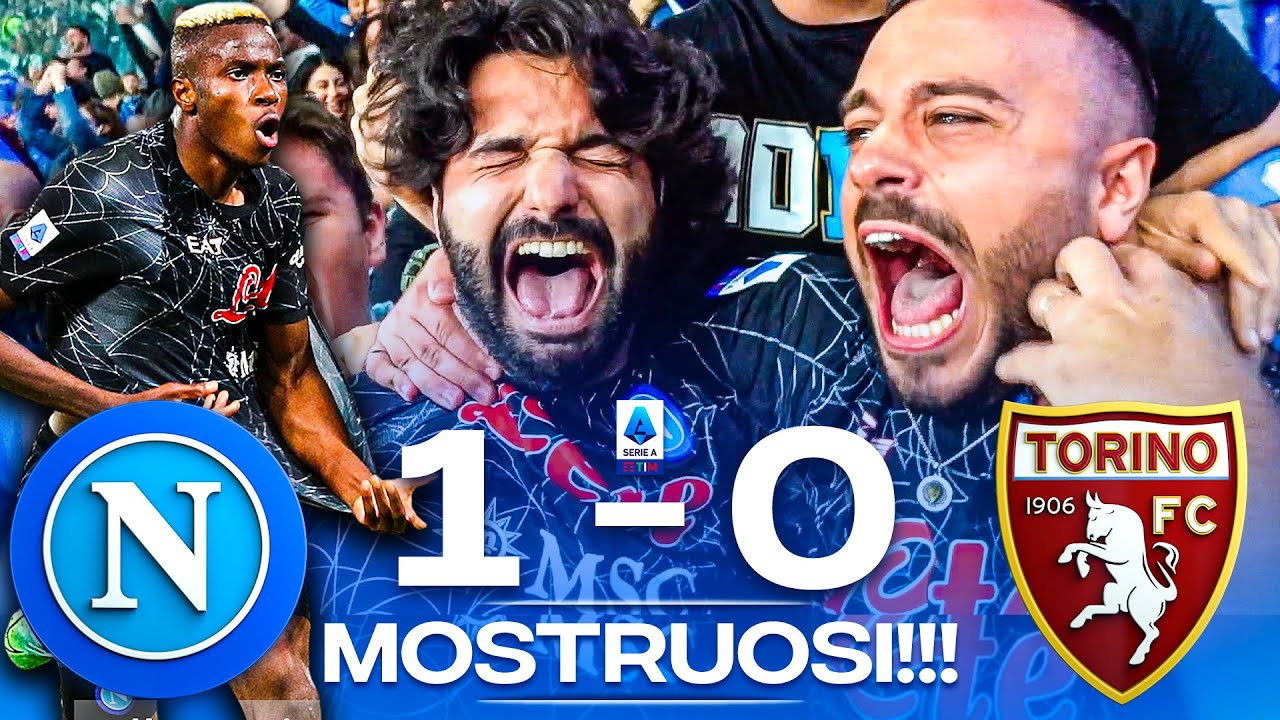 Download 😱 MOSTRUOSI!!! NAPOLI 1-0 TORINO   LIVE REACTION NAPOLETANI AL MARADONA HD
