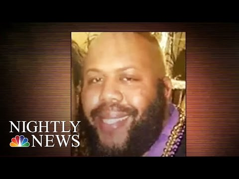 Manhunt For Cleveland Man Who Broadcast Murder On Facebook Live   NBC Nightly News