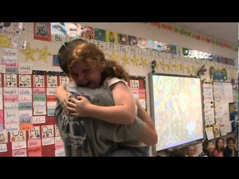 Daddy Surprises Daughter at school after deployment from YouTube · Duration:  1 minutes 16 seconds