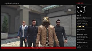 1st LIVESTREAM GTA and Chat