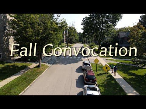 Bryn Mawr College - Fall Convocation