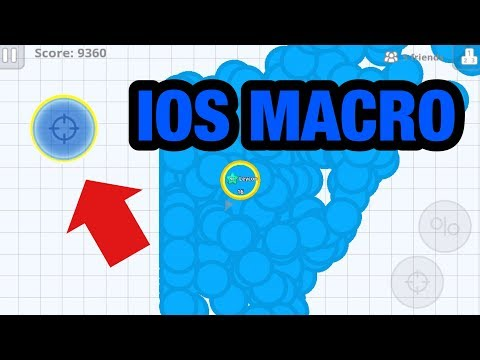 Agar.io - IOS Macro! 100% Real! No PC No Jailbreak Just Ios Device!