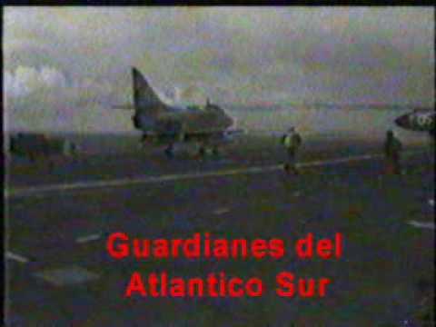 Super Etendard portaaviones ARA 25 de Mayo