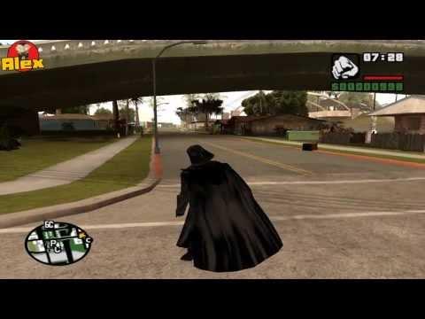 GTA: San Andreas. Проходняк. #7. Дарт Вейдер. (мод)!