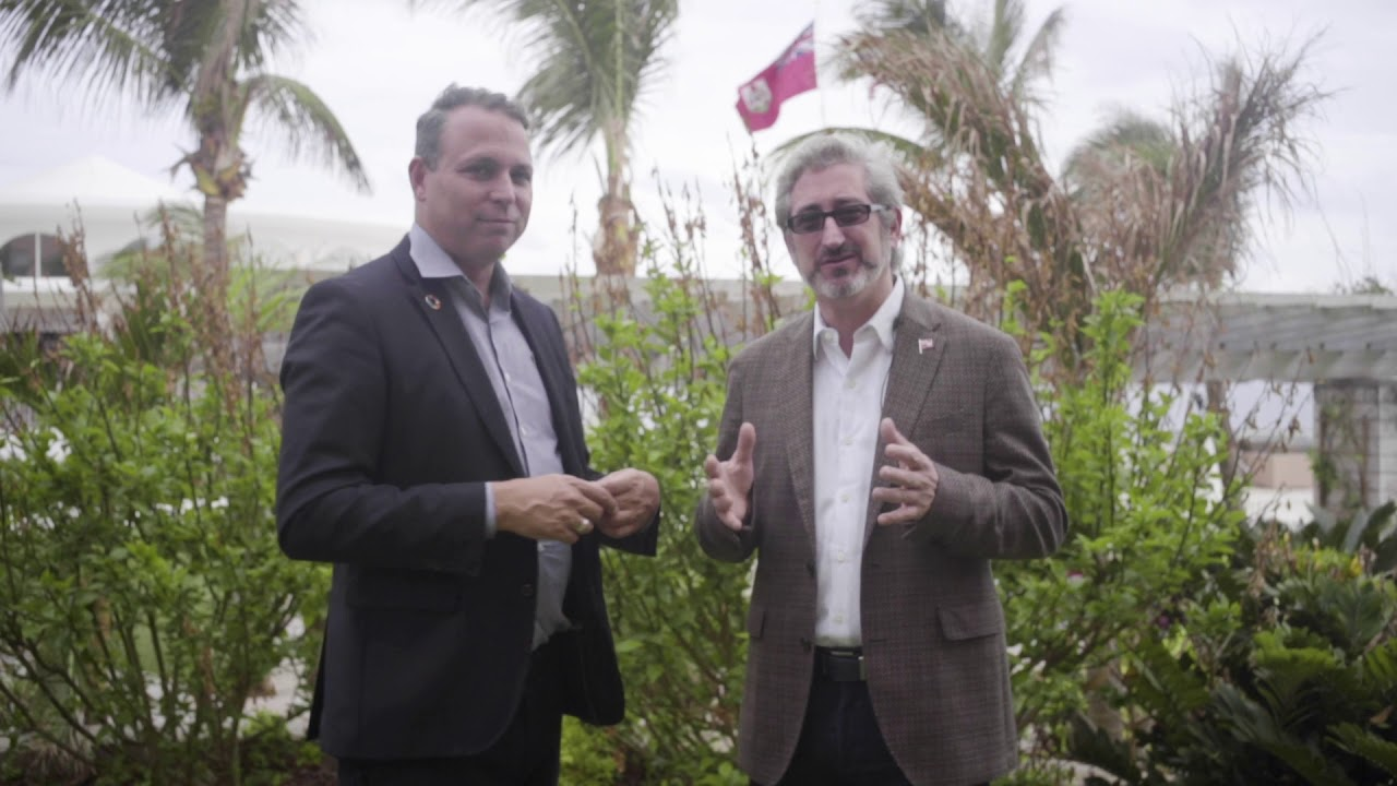 Bermuda Innovation Sprint 2019: David Shrier & Stan Stalnaker