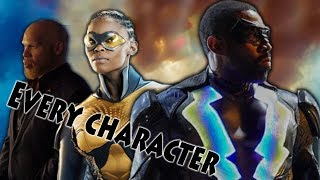 Every Confirmed Character in 'Black Lightning' Explained