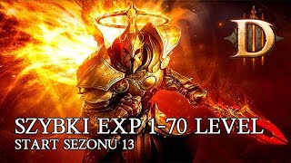 DIABLO 3 PL - SZYBKI EXP 1 - 70 LEVEL SEZON 13 ( FAST EXP 1 - 70 )