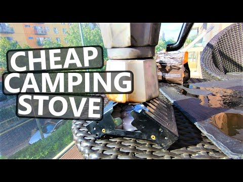Cheap Camping Stove I Testing Out The Coghlans Emergency Lightweight Fold Up Stove
