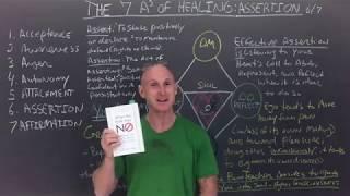 The 7 As of Healing Part 6 - Assertion