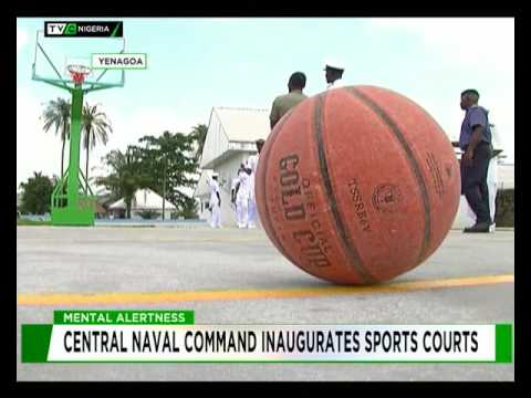 Mental Alertness: Central Naval Command inaugurates Sports Courts