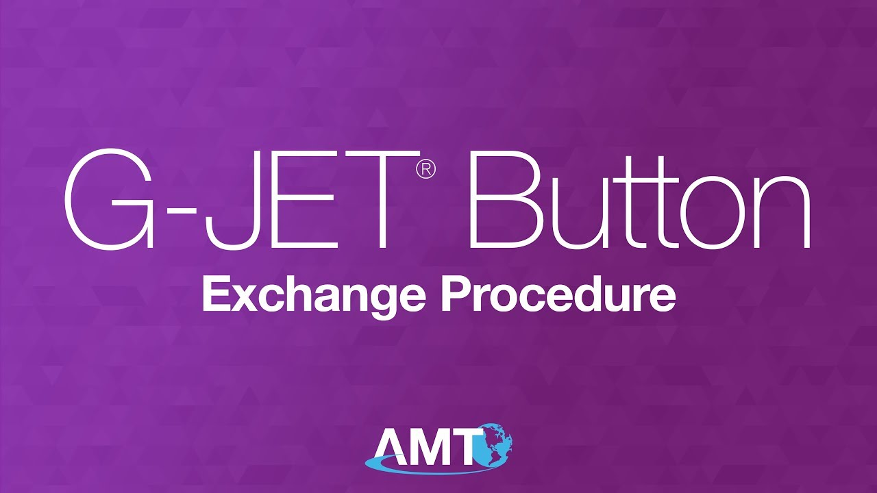 G Jet Button Exchange Procedure Youtube