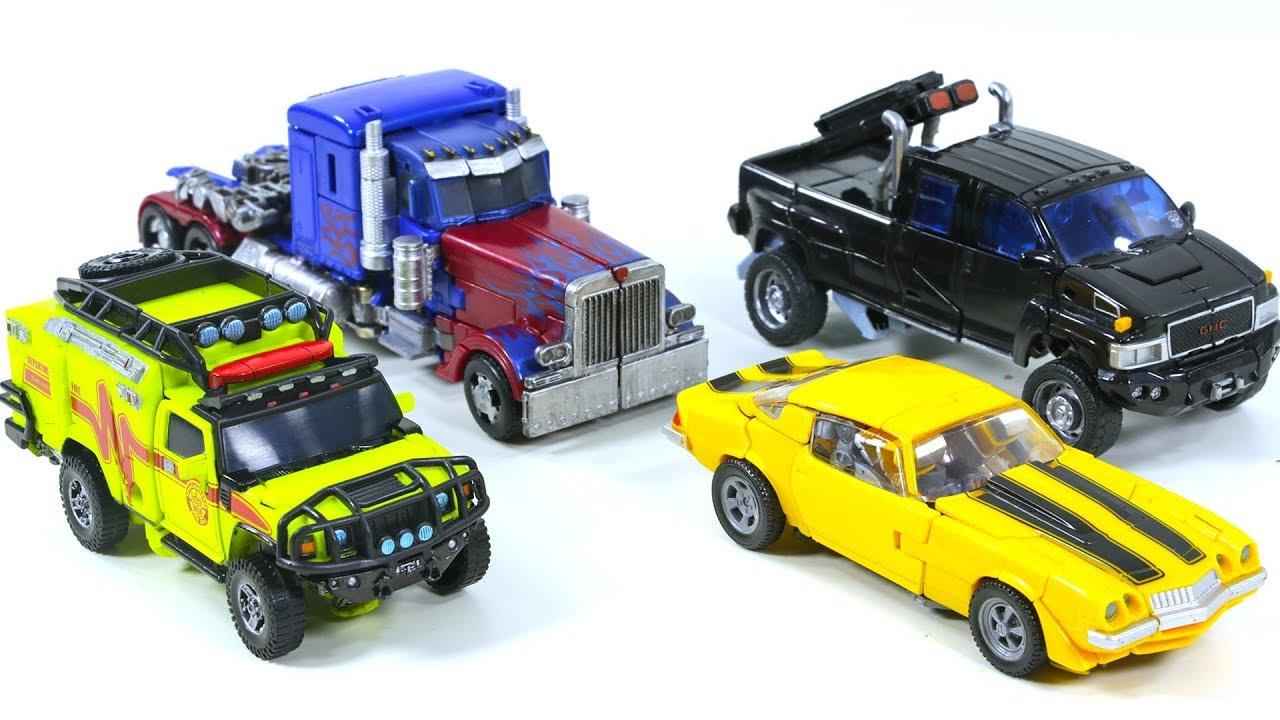 Transformers Movie Autobots Toy Optimus Prime Bumblebee ...