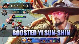 BIG LEVEL GAP - YI SUN-SHIN BOOSTED WITH ROAM