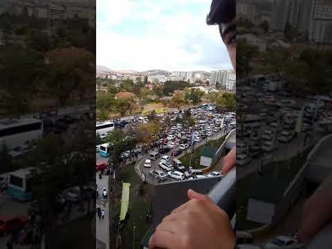 Erzurum MNG AVM açılış günü trafiği