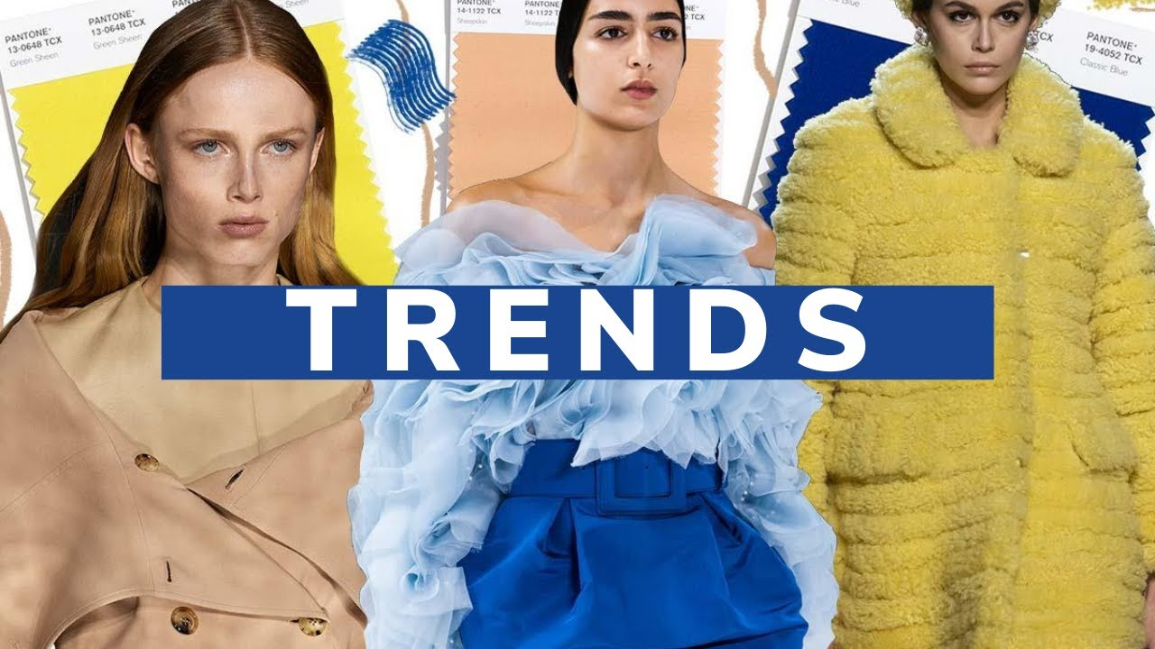 Color Trends - Fall/Winter 2020-21