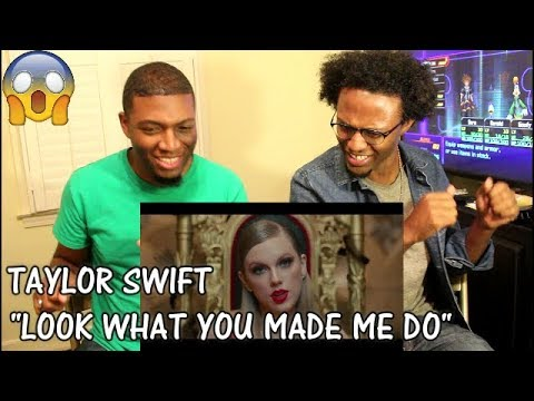 Taylor Swift - Look What You Made Me Do (REACTION)