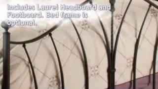 Laurel Bed - Hillsdale Furniture