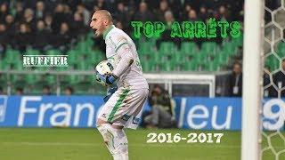 Les plus beaux arrêts de Stéphane Ruffier saison 2016-2017