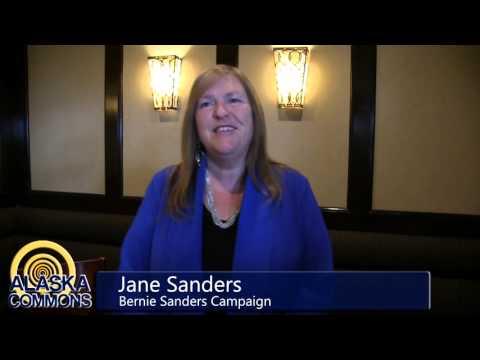 Jane Sanders Visits Alaska
