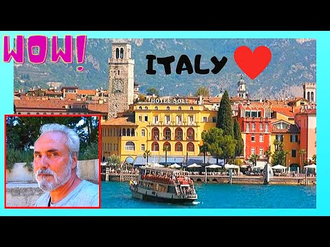 ITALY, spectacular LAKE GARDA and the historic VENETIAN TOWN