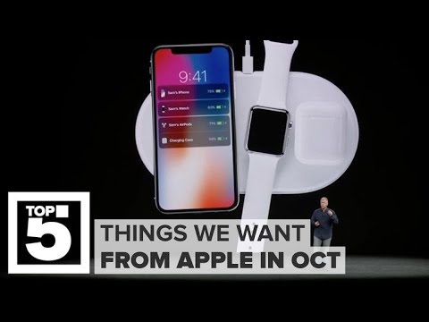 Apple's October event: What we want to see (CNET Top 5)