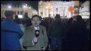 El día que Jorge Bergoglio era elegido como Papa Francisco
