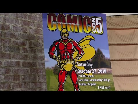 New River Community College Comic-Con