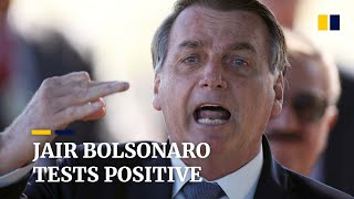 Brazil's President Jair Bolsonaro tests positive for Covid-19, removes mask at press conference