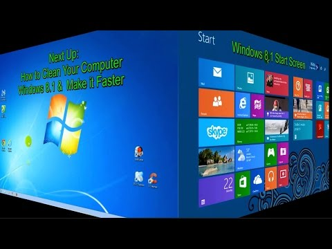 How to Clean your Computer and Make it Faster Windows 7, Windows 8 & Windows 8.1 - Free & Easy