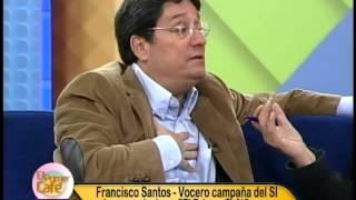 Francisco Santos, opositor del alcalde Gustavo Petro, invitado al Primer Café de Canal Capital