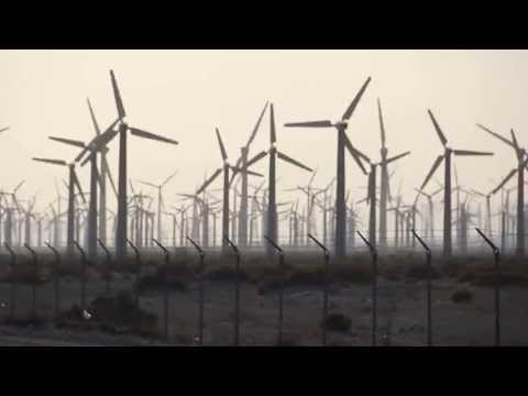 San Gorgonio wind farm outside of Palm Springs, CA.