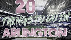 Top 20 Things To Do In Arlington, Texas