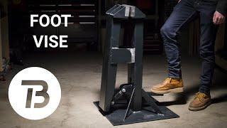 Making a Blacksmith's Foot Vise