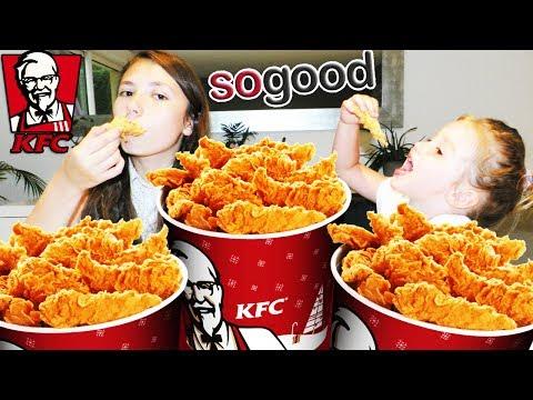[VLOG] On mange des buckets remplis de tenders du KFC ! Chicken Nuggets ! Bon Appétit !