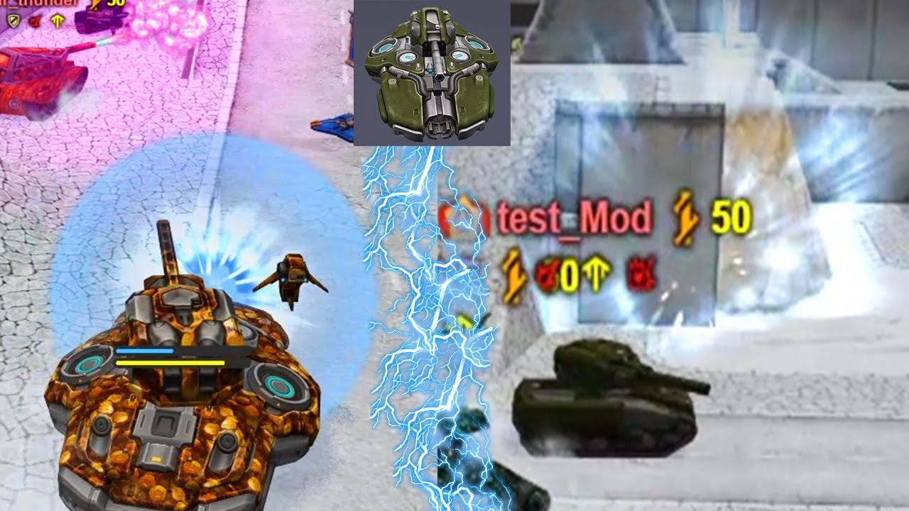 New Hull Crusader Secret Gameplay Tanki Online Test Server Tanki Onlajn Youtube