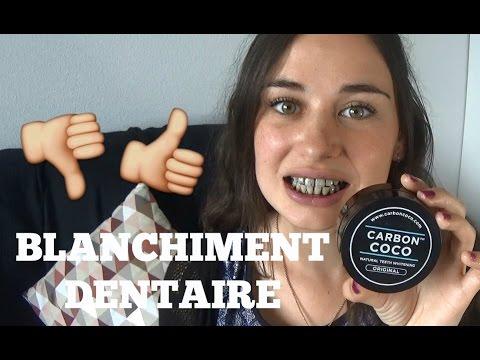 Blanchiment Dentaire Au Charbon Youtube