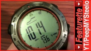 Highgear Altimeter Watch of the Altiware Watches in the Summit Model With Digital Compass
