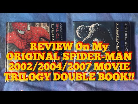 My REVIEW On SPIDER-MAN THE VISUAL GUIDE TO THE COMPLETE MOVIE TRILOGY BOOK!![I ❤️ THIS BOOK]