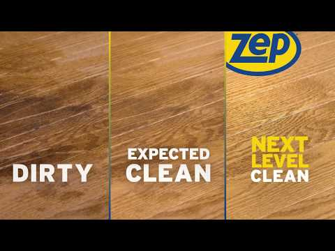 Restore Shine to Hardwood Floors with Zep Polyurethane Floor Finish