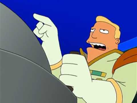 Zapp Brannigan - She's built like a steakhouse scene