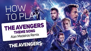 The Avengers - The Avengers Theme Song (Alan Medeiros Remix) | SUPER PADS KIT TEAM