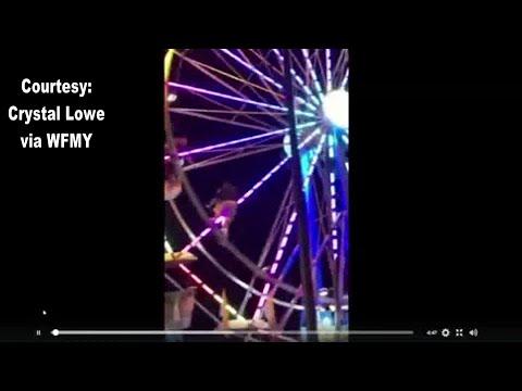 RAW VIDEO: NC ride worker falls from Ferris wheel