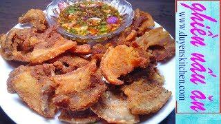 Cách Làm Thịt Ba Rọi Chiên Giòn Tan Ăn Chơi By Duyen's Kitchen | Ghiền Nấu Ăn