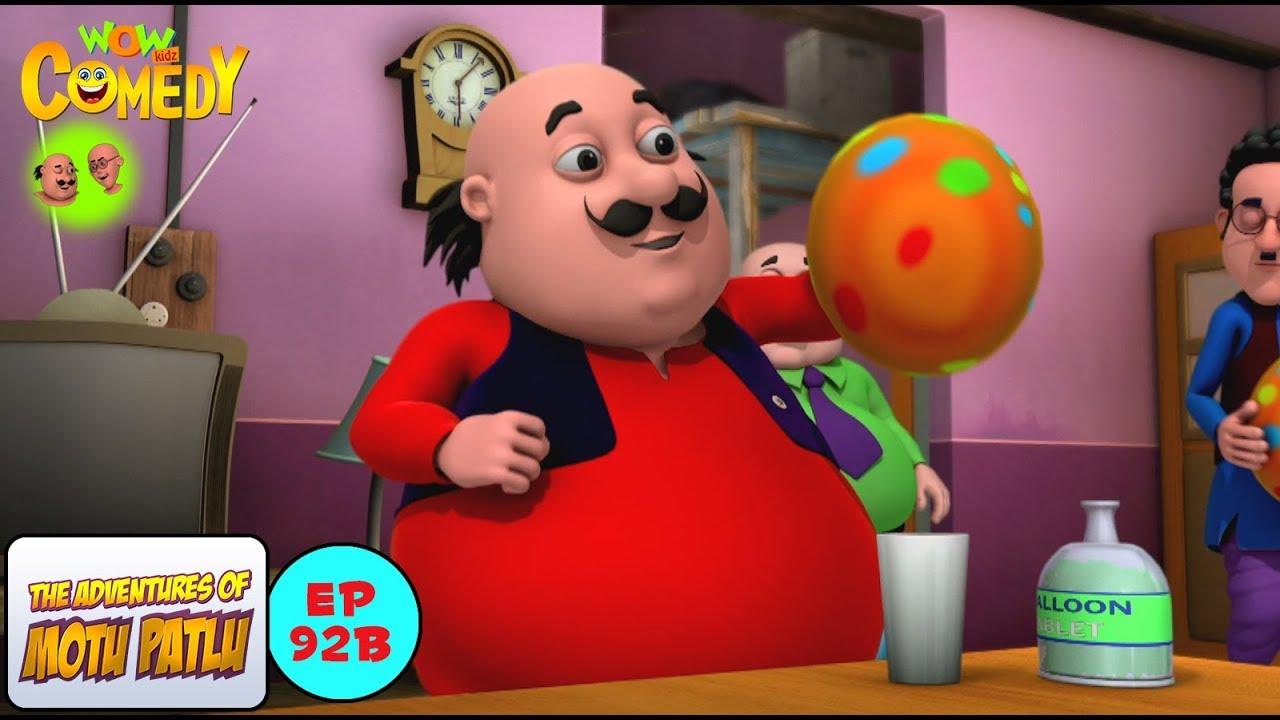 Motu Balloon Motu Patlu In Hindi 3d Animated Cartoon Series For